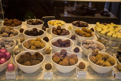Schokoladeauslage Godiva Chocolatier