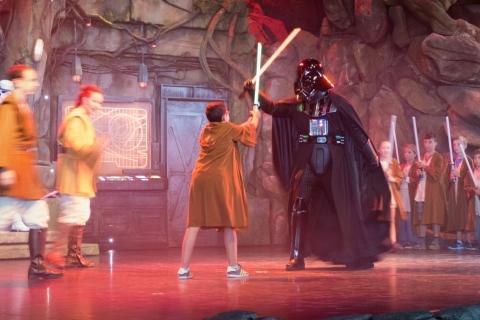 Padawanschüler besiegen Darth Vader