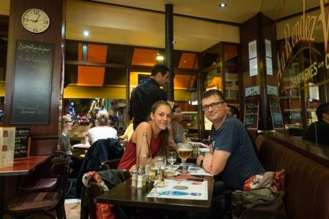 """Abendessen in der Brasserie """"Au Rendez-Vous des Artistes"""""""