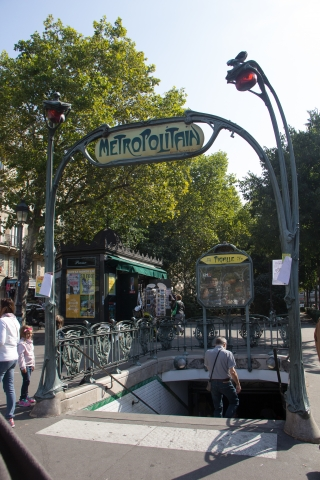 Metrostation Pigalle