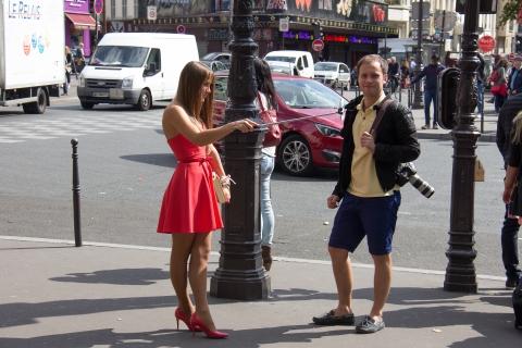 Fotosession vor dem Moulin Rouge