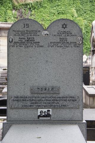 Grabstein im Cimetière de Montmartre