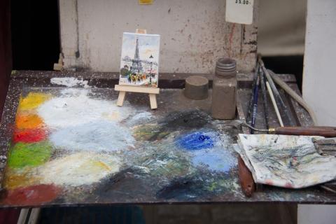 Kunst am Place du Tertre