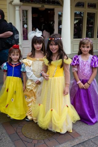 Hübsch sind die vielen Prinzessinnen