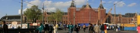 Amsterdamer Zentralbahnhof
