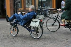 Das beliebteste Fortbewegungsmittel in Amsterdam - das Fahrrad