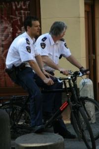 """berittene"" Polizei"