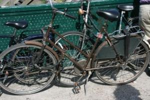 Dieses Rad fährt wohl nicht mehr