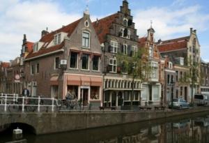 Schöne Häuser in Alkmaar
