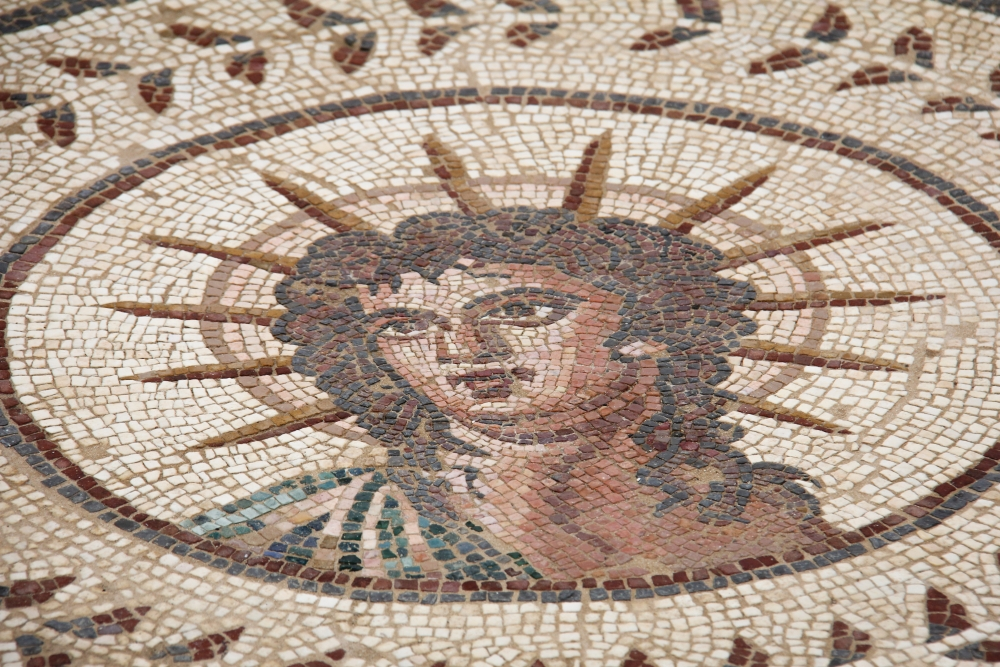Mosaikböden in Italica