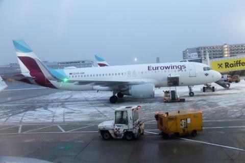 Flugzeug nach Malaga