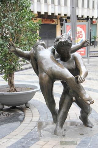 Brunnen La muerte de Acteón