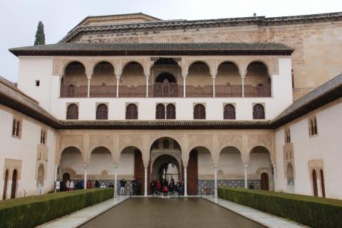 Myrthenhof im Nasriden-Palast / Granada