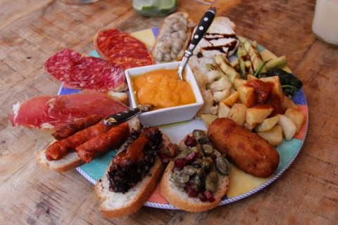 Tappas im Restaurant La Bicicleta  / Granada
