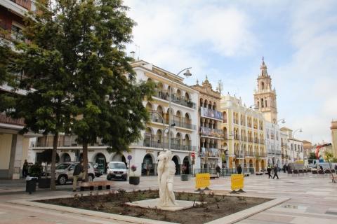 Rathausplatz Plaza de España in Ecija
