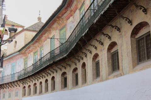 Fassade des Palacio de Peñaflor in Ecija