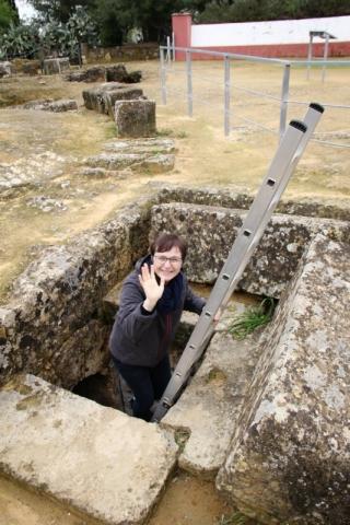 Römische Grabanlage Necrópolis Romana in Carmona