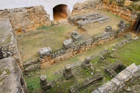 Grab des Elefanten in der Necrópolis Romana bei  Carmona