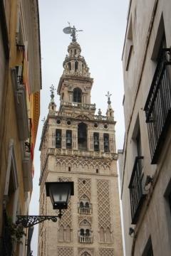 Kirchturm Giralda in Sevilla