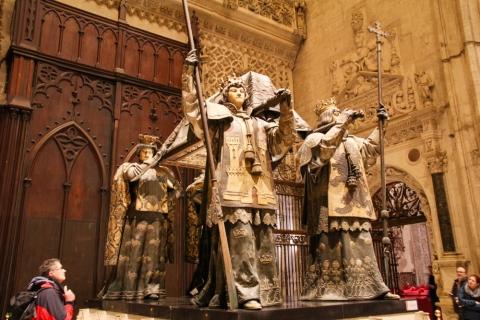 Grabmal des  Christoph Kolumbus in der Kathedrale von Sevilla