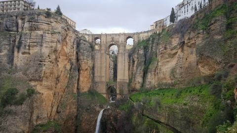 Die Brücke Puente Nuevo in Ronda