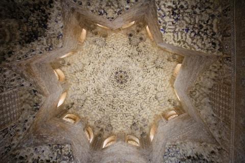 Decke des Sala de dos Hermanas  im Nasriden-Palast / Granada
