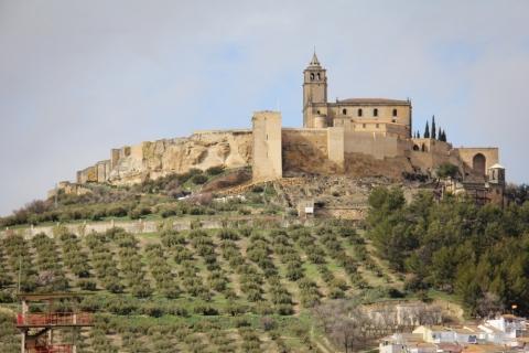 Fortaleza de la Mota über Alcalá la Real