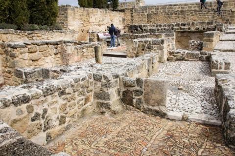 Ausgrabungen in der Fortaleza de la Mota / Alcalá la Real