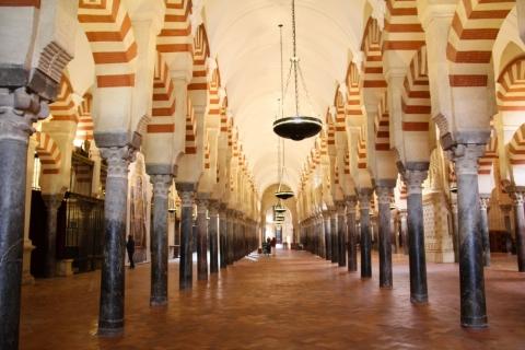 Säulen in der Mezquita-Catedral  in Cordoba