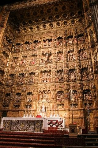 Hochaltar in der Kathedrale von Sevilla