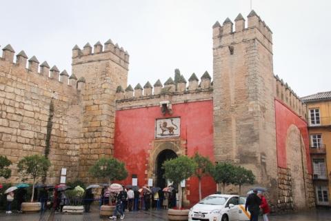 Königspalast Real Alcázar in Sevilla