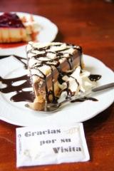 Kuchen in der Cafetería Colon in Ronda