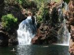 Einer der vielen Wasserfälle im Litchfield NP