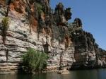 Bootsfahrt im Geike Gorge NP