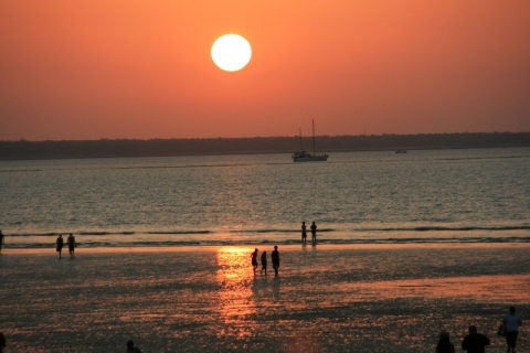 Sonnenuntergang am Mindil Beach