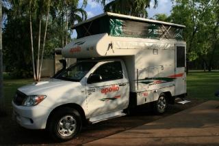 Unser Campervan für die nächsten 4 Wochen