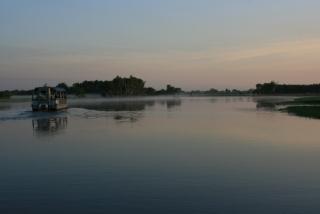 Morgendämmerung am Yellow Water River