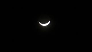 Der Mond steht Kopf