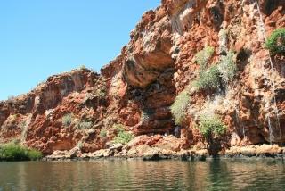 Bootsfahrt am Yardie Creek