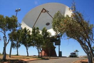 Satellitenschüssel der Apollo-Mission