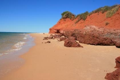 Wunderschöner Strand im Francois Peron National Park