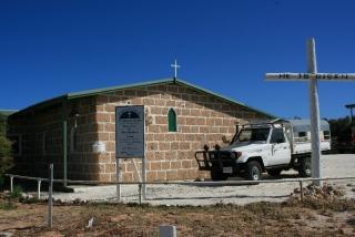 Kirche aus Muscheln