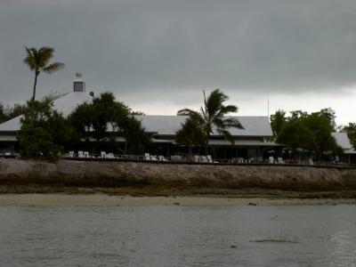 Unwetterwolken über Heron Island