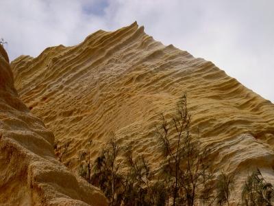 Coloured Sands auf Fraser Island