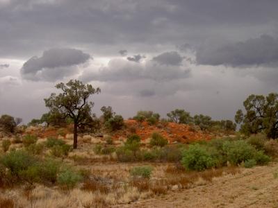 Unwetter in der Wüste