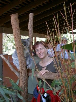 Sabine und Koala