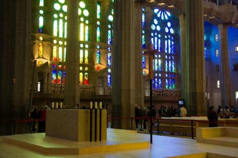 Altarraum der Sagrada Família