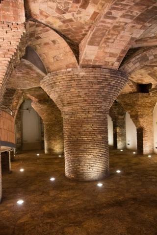 Kellerräume im Palau Güell