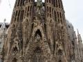 Impressionen der Außenfassade der Sagrada Família