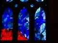 Die Lichtfenster in der Sagrada Família